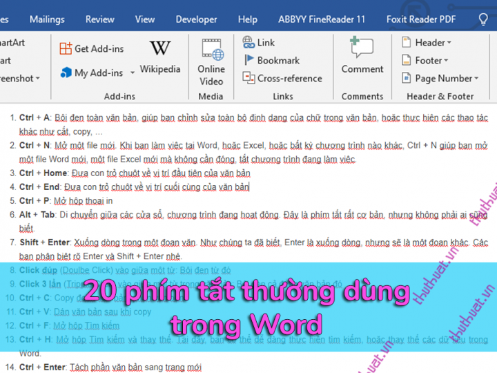 20-phim-tat-thuong-duoc-su-dung-trong-word
