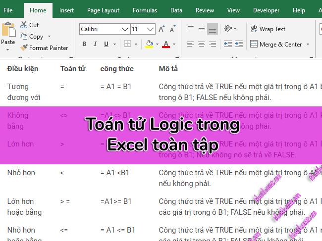 cac-toan-tu-logic-cua-excel-bang-khong-bang-lon-hon-nho-hon