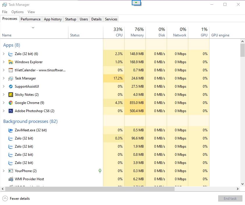 10 thủ thuật Windows Task Manager mà bạn nên biết 1
