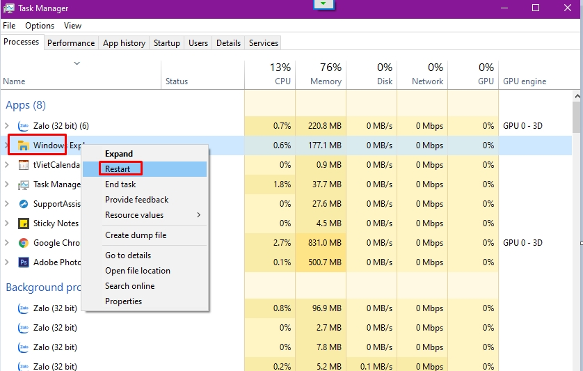 10 thủ thuật Windows Task Manager mà bạn nên biết 3