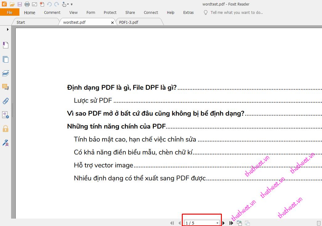 Cách chia nhỏ, cắt file PDF đơn giản 1