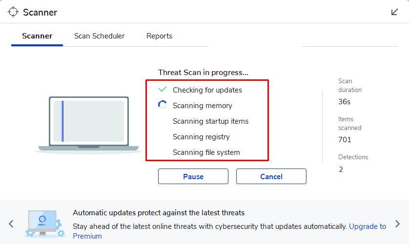 Cách dùng Malwarebytes để tìm, diệt phần mềm gián điệp, quảng cáo, độc hại... trên máy tính 10