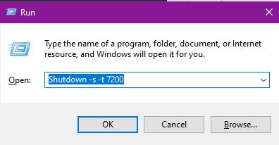 Cách hẹn giờ tắt máy tính trên Windows 10 2