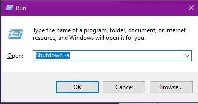 Cách hẹn giờ tắt máy tính trên Windows 10 4