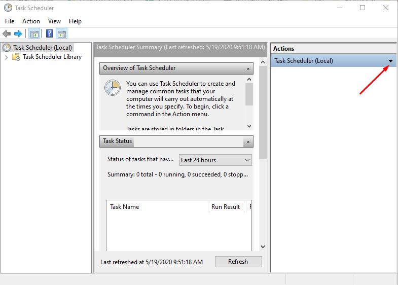 Cách hẹn giờ tắt máy tính trên Windows 10 7
