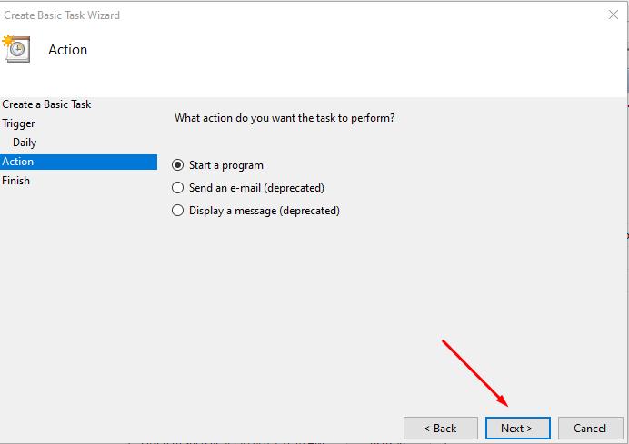 Cách hẹn giờ tắt máy tính trên Windows 10 12