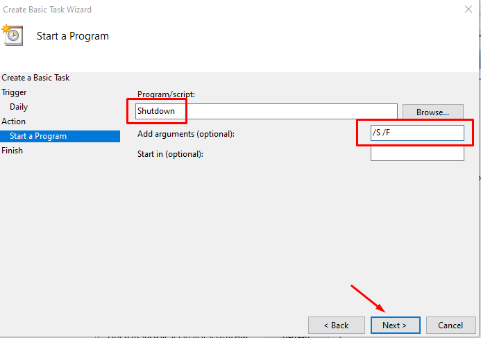 Cách hẹn giờ tắt máy tính trên Windows 10 13