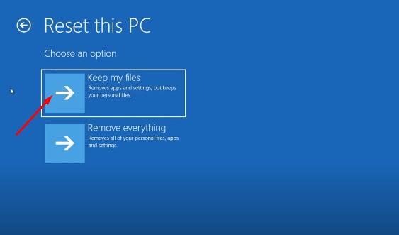 Cách Reset Windows 10 từ Boot chi tiết có hình minh họa 5