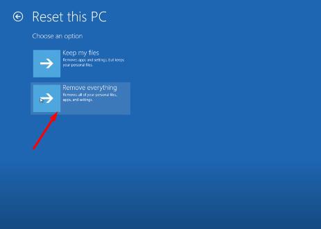 Cách Reset Windows 10 từ Boot chi tiết có hình minh họa 25