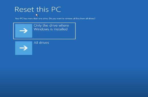 Cách Reset Windows 10 từ Boot chi tiết có hình minh họa 26