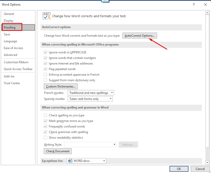 Cách soạn bảng gõ tắt và cách gõ tắt trong Word Excel Powerpoint 2