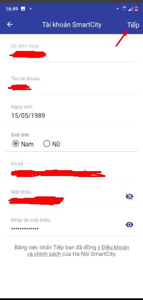 Cách sử dụng Hà Nội Smart City để theo dõi dịch Covid 19 tại Hà Nội 7