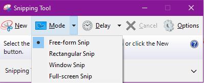 Cách sử dụng Snipping Tool trên Windows 10 toàn tập 6