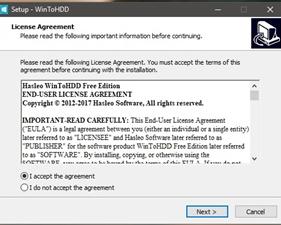 Cách sử dụng WinToHDD để cài mới lại Windows 2