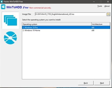 Cách sử dụng WinToHDD để cài mới lại Windows 4