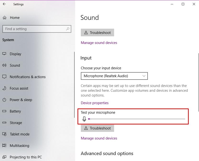Cách sửa lỗi microphone trên Windows 10 4