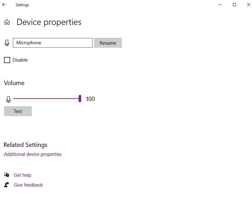 Cách sửa lỗi microphone trên Windows 10 6