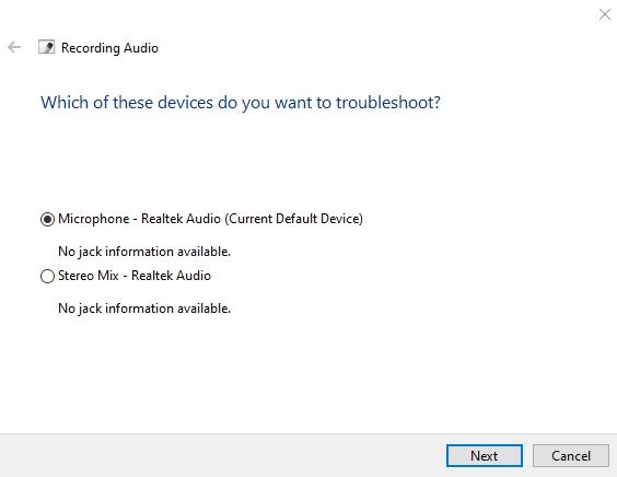 Cách sửa lỗi microphone trên Windows 10 9