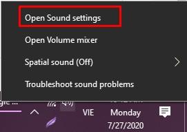 Cách sửa lỗi microphone trên Windows 10 15