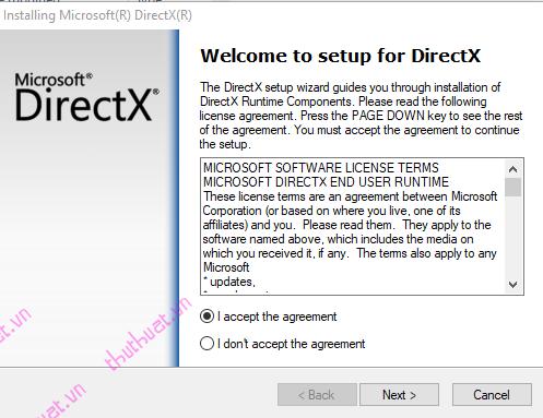 Cách tải và cài đặt DirectX trên máy tính 1