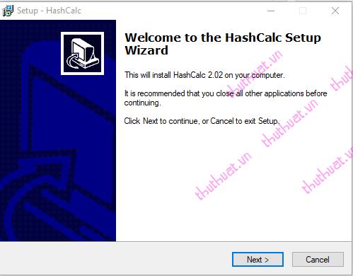 Check MD5 và SHA1 kiểm tra tính toàn vẹn của tập tin (file) 6