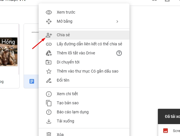 Chia sẻ và phân quyền file toàn tập trên google drive 6