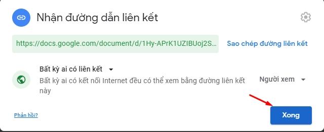 Chia sẻ và phân quyền file toàn tập trên google drive 20