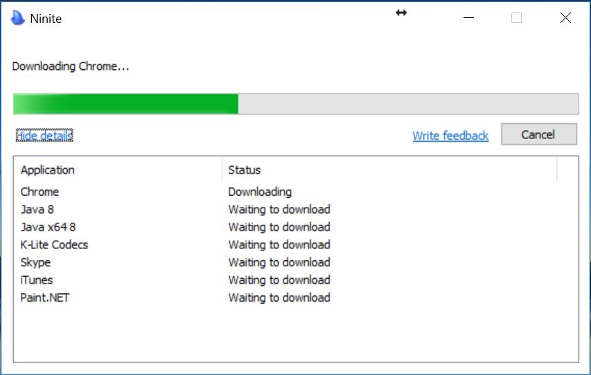 hướng dẫn cách cài phần mềm tự động bằng Ninite 3