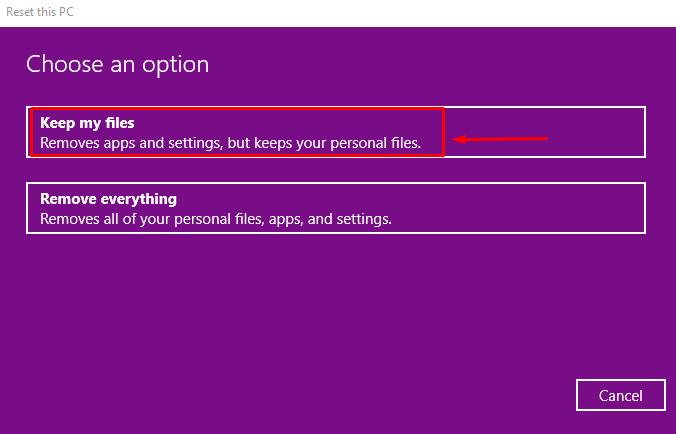 Hướng dẫn cách reset windows 10 có hình ảnh chi tiết 6