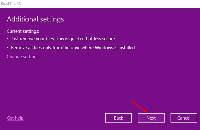 Hướng dẫn cách reset windows 10 có hình ảnh chi tiết 35