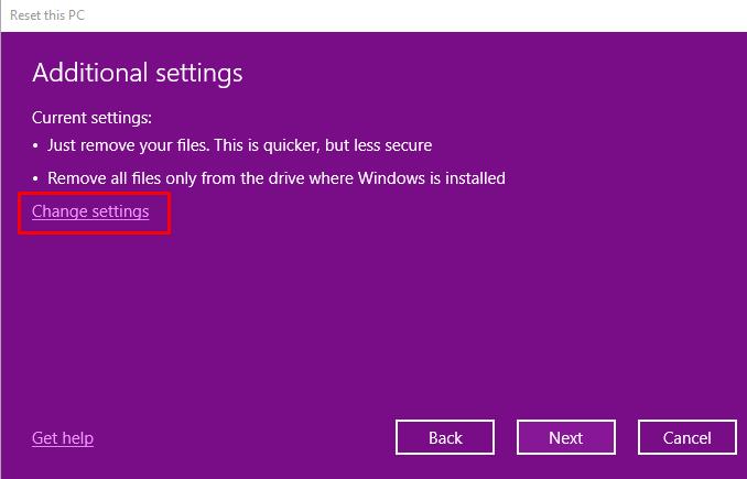Hướng dẫn cách reset windows 10 có hình ảnh chi tiết 36