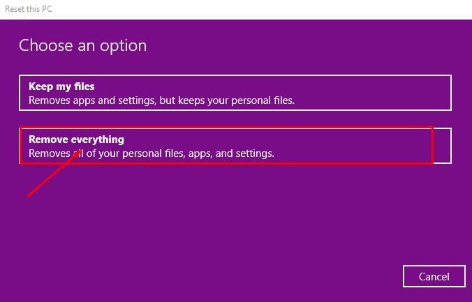 Hướng dẫn cách reset windows 10 có hình ảnh chi tiết 65