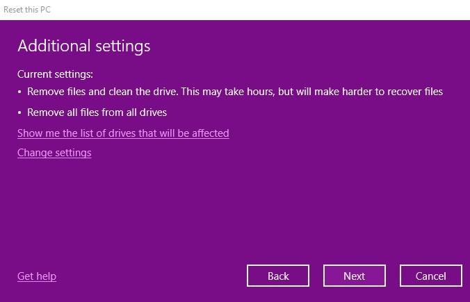 Hướng dẫn cách reset windows 10 có hình ảnh chi tiết 68