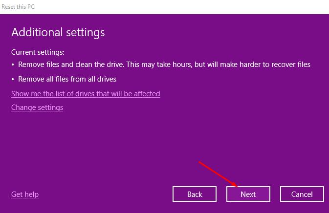 Hướng dẫn cách reset windows 10 có hình ảnh chi tiết 69