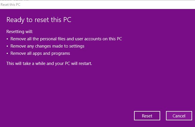 Hướng dẫn cách reset windows 10 có hình ảnh chi tiết 70