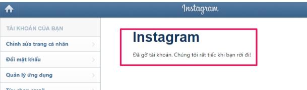Hướng dẫn cách vô hiệu hóa, xóa tài khoản Instagram tạm thời & vĩnh viễn 8