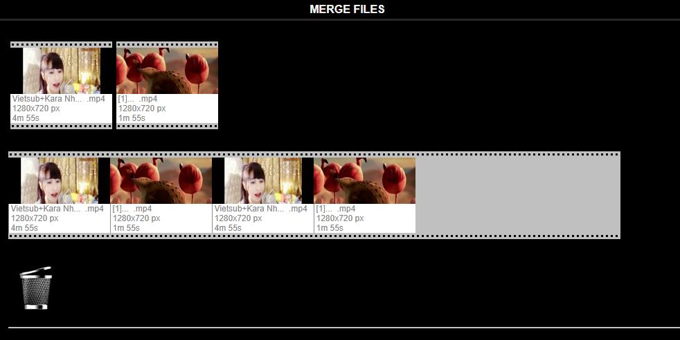 Hướng dẫn ghép video bằng Video Toolbox online 8