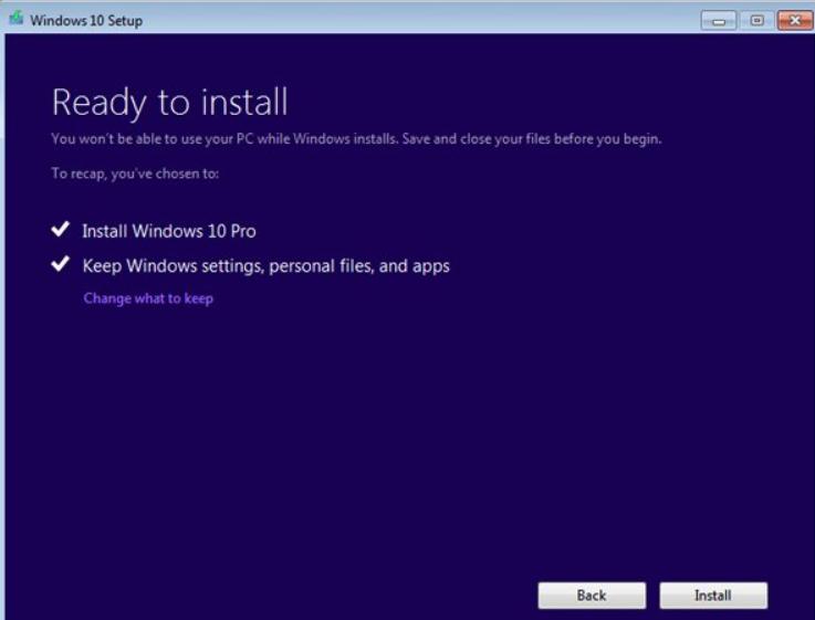 Hướng dẫn nâng cấp (update) windows 7/8/8.1 lên windows 10 15