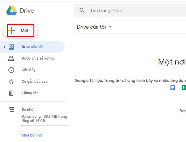 Hướng dẫn sử dụng Google Drive 3