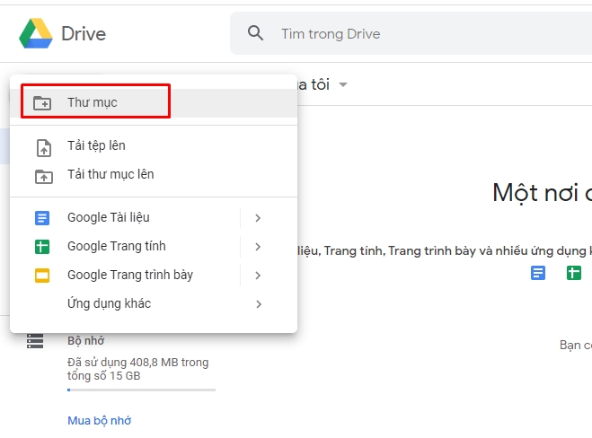 Hướng dẫn sử dụng Google Drive 4