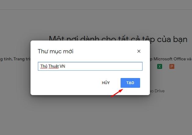 Hướng dẫn sử dụng Google Drive 5