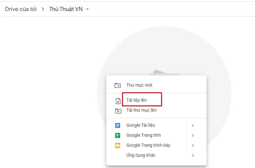 Hướng dẫn sử dụng Google Drive 7