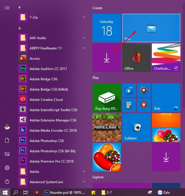 Hướng dẫn sử dụng ứng dụng Mail trên Windows 10 1
