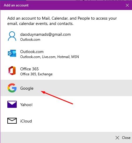 Hướng dẫn sử dụng ứng dụng Mail trên Windows 10 5