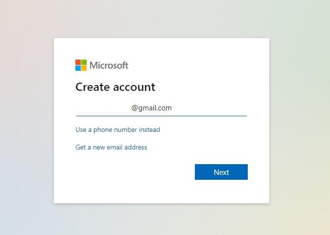 Hướng dẫn tạo tài khoản Microsoft nhanh nhất 1