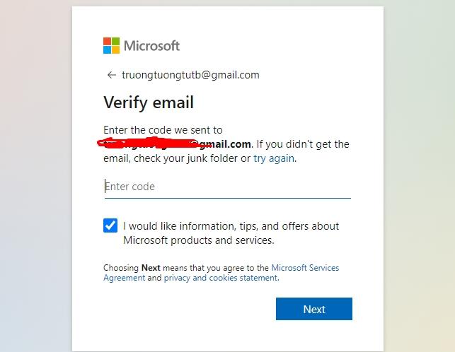 Hướng dẫn tạo tài khoản Microsoft nhanh nhất 6