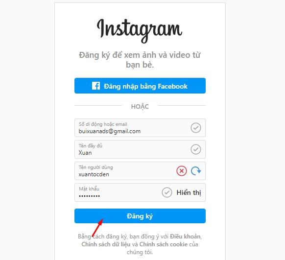 Instagram là gì ? Cách đăng ký tài khoản Instagram 11