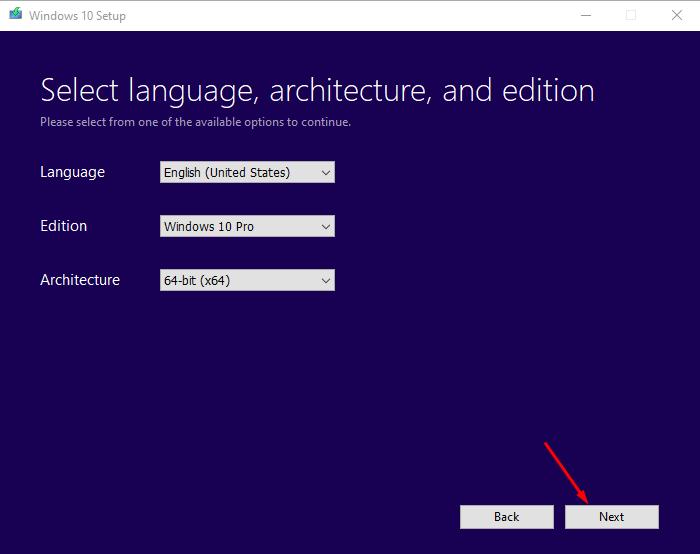 Media creation tool công cụ tải windows 10 chính hãng từ Microsoft 3