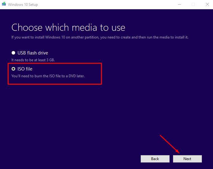 Media creation tool công cụ tải windows 10 chính hãng từ Microsoft 4