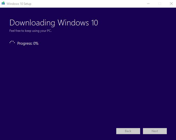 Media creation tool công cụ tải windows 10 chính hãng từ Microsoft 6